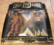 Wwe Classic Superstars Rick Martel Jake Snake Roberts Figure New damaged box