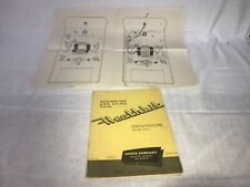 HEATHKIT 1954 HEATH  Model OM-1 OSCILLOSCOPE