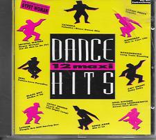 V/A - 12 Maxi Dance Hits CD Album 12TR Euro House Synth-Pop 1991 Black Box Seal