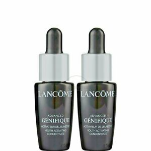 Lot of 2 Lancome Advanced GENIFIQUE Youth Activating Concentrate 0.27 oz/8 ml