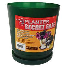new Flower pot  secret stash hidden compartment safe place diversion safe!!!!