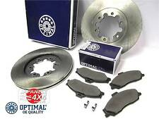 fits: FORD RANGER 1999-2006 4x4 **2 x OE QUALITY FRONT BRAKE DISCS & PADS SET**