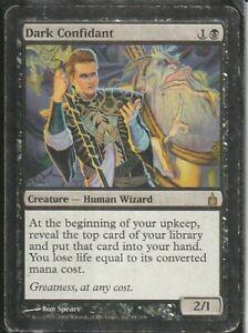MTG Magic Gathering Dark Confidant Ravnica Heavy Play Rare