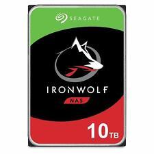 "10TB Seagate IronWolf NAS HDD SATA 3.5"" Internal Hard Drive 7200RPM 256MB Cache"