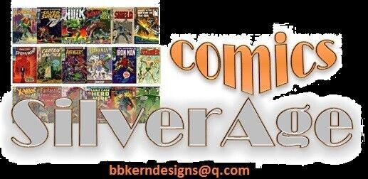 Comics Silver Age