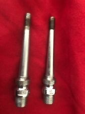 """Vintage CAMPAGNOLO SUPER RECORD Spindles Axles for 1037 1037A Pedals 9/16"""""""