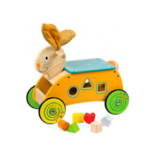 Bigjigs Wooden Baby/Toddler Ride On Toy Bunny