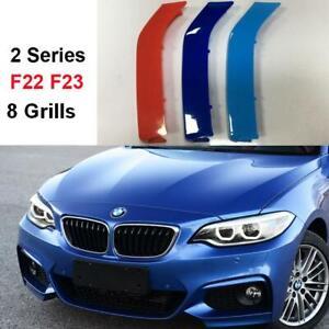 BizTech® Clip In Grill inserts Stripes For BMW 2 Series F22  F23 M Sport