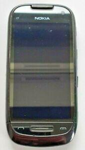 Nokia C7-00 - 8GB - Charcoal Black (ee/T-Mobile) Smartphone, UK Seller