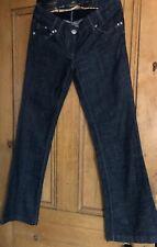 River Island Womens Bootleg Jeans U.K.  Size 12 R Denim Navy Immaculate