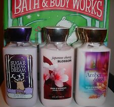LOT OF 6 Bath & Body Works Body lotion Full size 8 oz each - Mix & Match scents