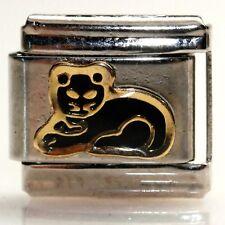 Black Cat Italian Bracelet Charm