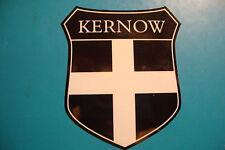 2 St PIRANS FLAG OF CORNWALL  KERNOW SHEILD  UK CAR WINDOW BUMPER  STICKERS