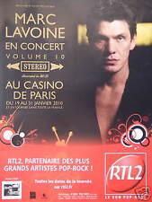 PUBLICITÉ RTL2 PARTENAIRE D'ARTISTES MARC LAVOINE EN CONCERT AU CASINO DE PARIS