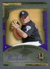 Justin Wechsler 2005 UD Ultimate Collection Rookie #177