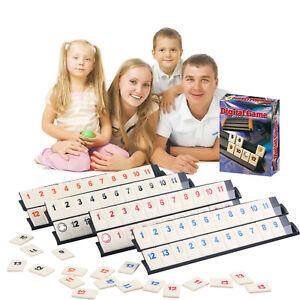 Digital Rummy Board Game Israel Mahjong Rummikub 106 Tiles Family Party Cards UK