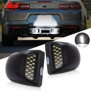 Rear License Plate LED Light Fit Chevrolet Silverado GMC Sierra 1500 2500 99-14
