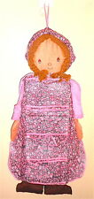 HOLLY HOBBIE 70s Gig Italy big ragdoll container tasks - bambola portatutto