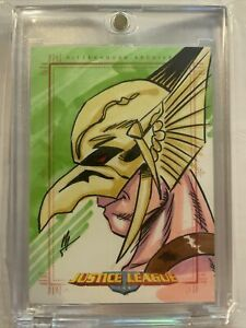 Justice League of America Archives - Color Sketch Card  - Hawkman Awesome🔥🔥🔥