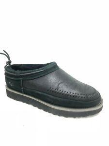 UGG Australia Men's Campfire Slip On Shoes Slippers Black 1020400 Sheepskin
