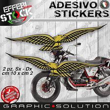 Stickers/Stickers Compatible Eagles Moto Guzzi Nevada V7 V9 Stelvio