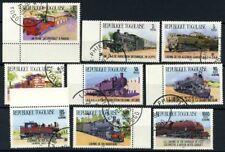 Togo 1984 Mi. 1807-1815 Usato 100% Treni