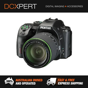 PENTAX K-70 DSLR (BLACK) + DA 18-135MM F3.5-5.6 WR LENS (16257)