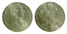 s62_24) AUSTRIA - Maria Teresa d'Austria  - Tallero 1780 Restrike Riconio Ar