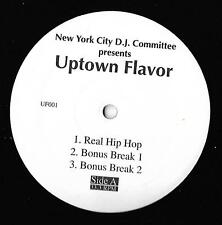 NEW YORK CITY DJ COMMITTEE-UPTOWN FLAVOR/OLD SCHOOL COCKTAIL NM CONDITION