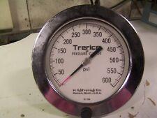 TRERICE 0 - 600 PSI PRESSURE GAUGE 52-2194