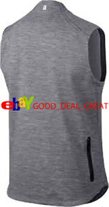 Tiger Woods TW Tech Pullover Sweater Vest 833286-091 Size Large *Nice Design*