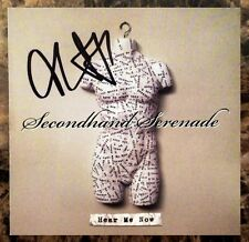 SECONDHAND SERENADE Hear ME Now Signed By John Vesely RARE Ltd Ed CD Booklet!