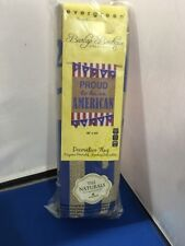 """New listing Proud To Be An American Evergreen Burlap Boutique Decorative Flag 28""""x44"""""""