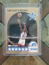 MICHAEL JORDAN 1990-91 Hoops Bulls Card #5 Chicago 90 All Star 🌟