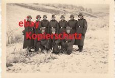 Foto T-Div.Stahlhelm Truppenübungsplatz Münsingen Winter 39/40 Elitesoldaten