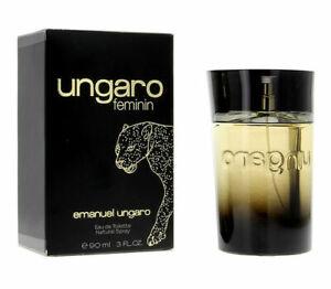 Profumo Donna Ungaro Feminin di Emanuel Ungaro Edt 90ml + Campioncini Regalo