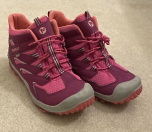 Merrell Chameleon 7 Berry Mid Hiking Boots Women's Size 6
