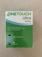 50 One Touch Ultra Blue Test Strips: Exp 10/21 (1)