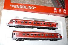 """S69   Fleischmann 4418 Dieseltriebzug  """" Pendolino """"  BR 610 DB  verkehrsrot"""
