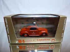 BRUMM R24 FIAT 500 C TOPOLINO 1949-1955 VIGILI DEL FUOCO 1:43 - EXCELLENT IN BOX