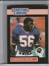 1989 STARTING LINE-UP LAWRENCE TAYLOR GIANTS HOF CARD ONLY - NO FIGURINE 7155