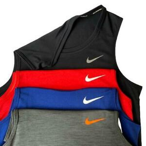 NWT Nike Pro Men's Dri-Fit Training Running Tank Top  S- 2XL  BLACK,RED,WHITE