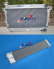 For Mazda R100/Familia Rotary 1000 1200 1300 10A/12A Aluminum Radiator&oilcooler