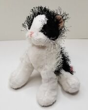 Webkinz Plush Black and White Cat Ganz No Code