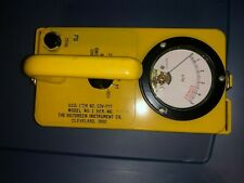 Vintage CD Civil Defense Handheld Radiation GEIGER COUNTER