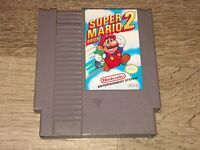 Super Mario Bros. 2 Nintendo Nes Cleaned & Tested Authentic