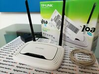 MODEM ROUTER wireless WIFI TP-LINK TL 300MBPS adsl2+ ACCESS POINT WR841N 2.4 GHZ