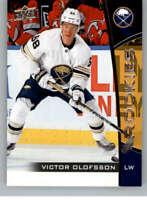 2019-20 UD NHL Rookie Box Set #17 Victor Olofsson Buffalo Sabres Hockey Card