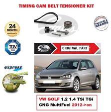 GATES CAMSHAFT TIMING BELT KIT for VW GOLF 1.2 1.4 TSi TGi CNG MultiFuel 2012-on