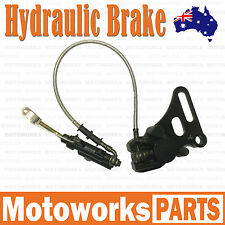 Hydraulic Rear Disc Brake Caliper System +Pad 125cc 150cc PIT PRO Dirt Bike B